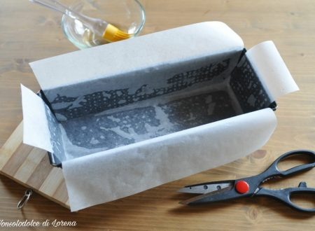 Come rivestire lo stampo da plumcake