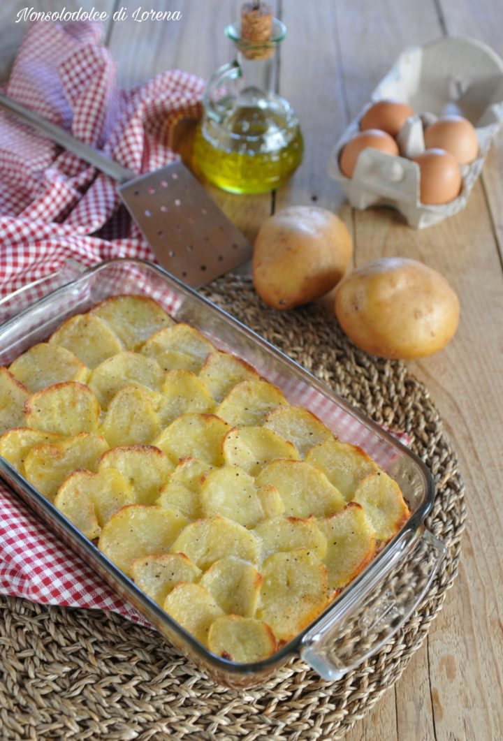 Moussaka di patate e car