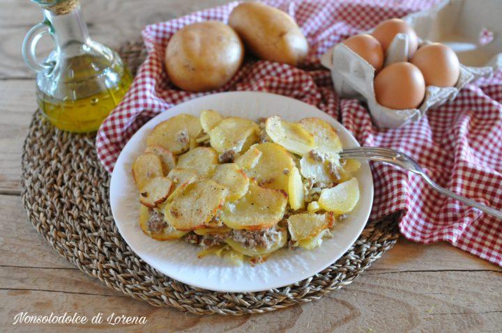 Moussaka di patate e carne