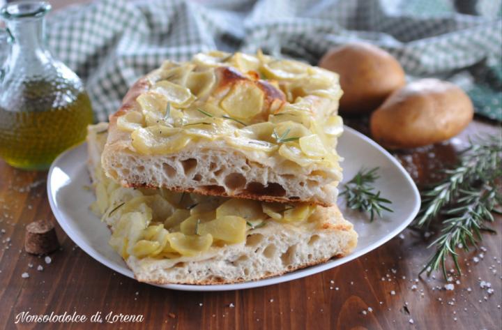 Focaccia di patate e rosmarino