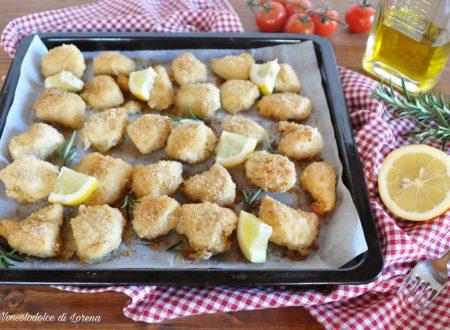 Bocconcini di pollo al limone gratinati
