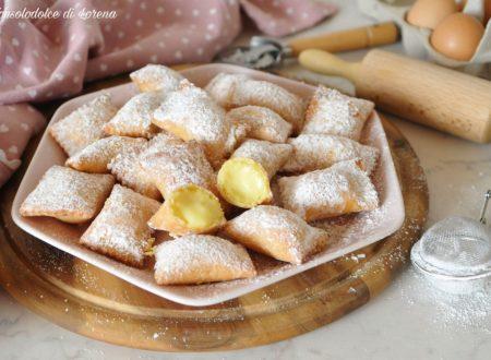 Ravioli dolci alla crema