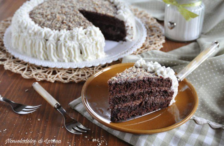 Torta delizia al cacao mascarpone e nutella
