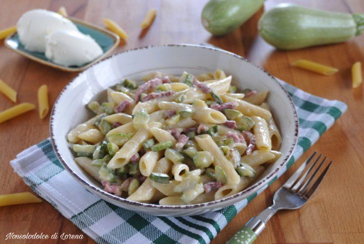 Pasta Cremosa Zucchine e Philadelphia