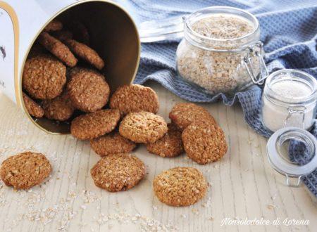 Biscotti cocco e avena