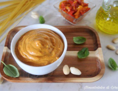 Pesto di peperoni cremoso
