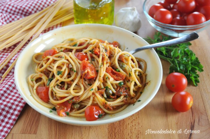 Spaghetti mediterranei