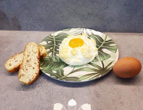 Nuvole di uovo al forno