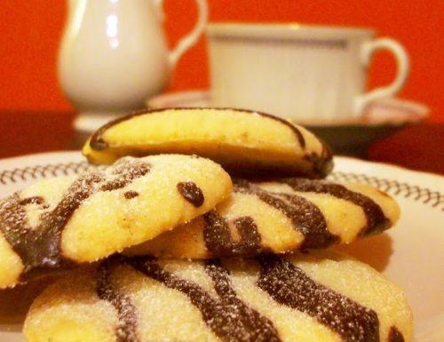 Biscotti mandorle e cioccolato