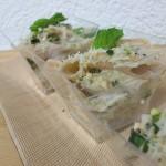 Penne integrali  gorgonzola e pistacchio al profumo di erbe aromatiche