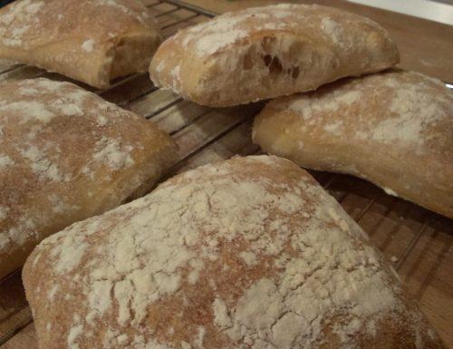 Pane tipo ciabatta con licoli