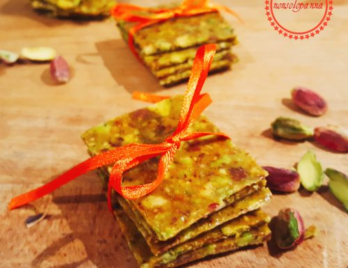 Sfoglia di croccante  al pistacchio