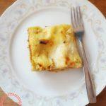 Lasagne al ragù vegetale