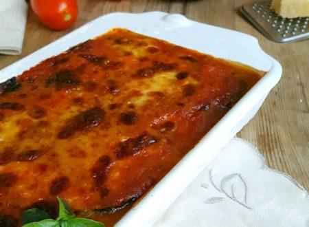 Parmigiana di melanzane semplice