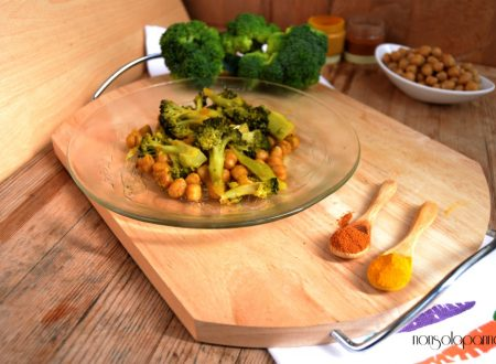 Cimette di broccoli e ceci al curry