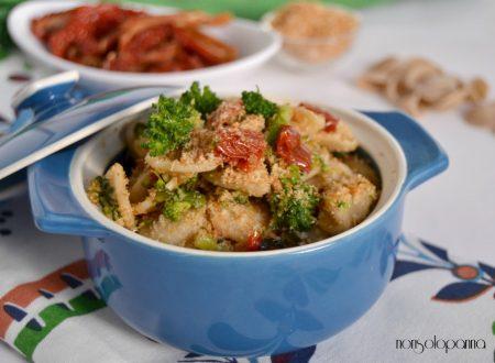 Orecchiette broccoletti e pomodori secchi
