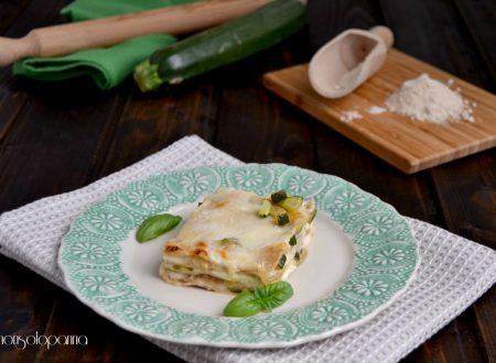 Lasagne di farina di Timilia  con zucchine al profumo di basilico