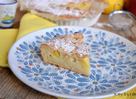 Torta mele e ricotta senza uova ne burro