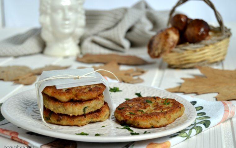 Hamburger  vegetariani con funghi porcini