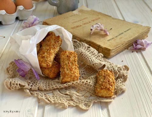 Reginelle – biscotti siciliani col sesamo