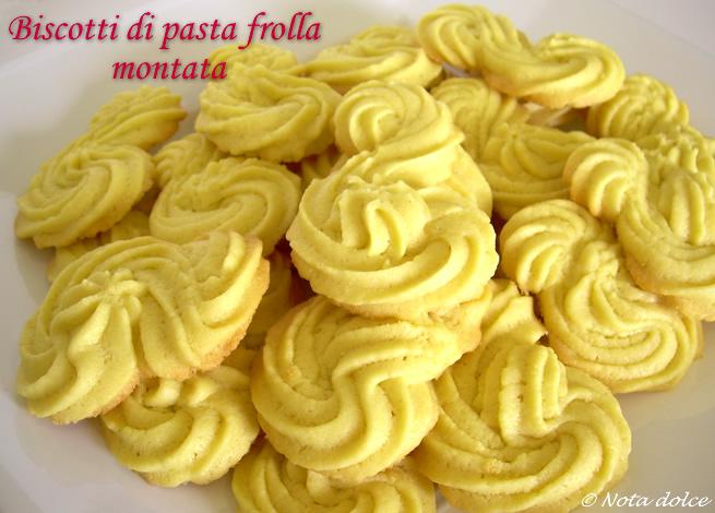 Ricetta di pasta frolla x biscotti