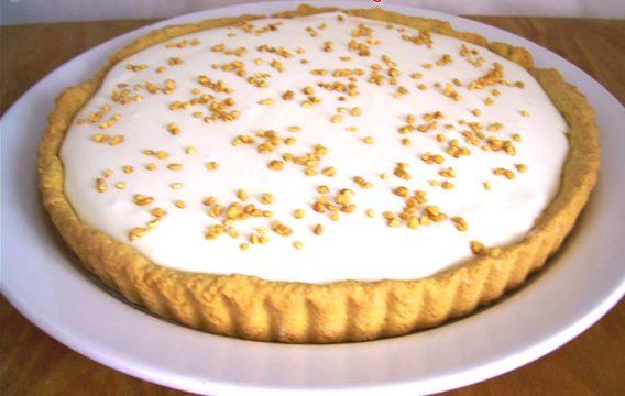 Crostata alla crema di cheesecake ricetta dolce