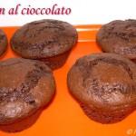 Muffin al cioccolato e yogurt, ricetta dolce senza burro