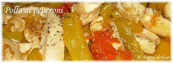 Pollo ai peperoni, ricetta secondo piatto