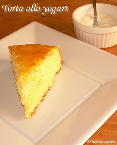Ricetta torta yogurt soffice