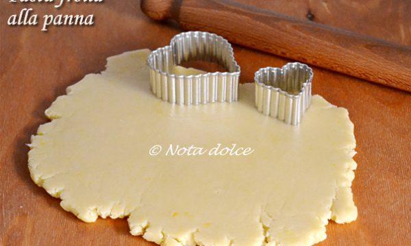 Pasta frolla alla panna ricetta base dolce