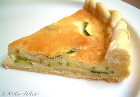 Torta salata di zucchine, ricetta antipasti