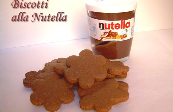 Biscotti alla nutella ricetta facile e golosa