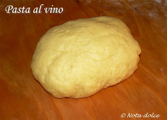 Pasta al vino ricetta base