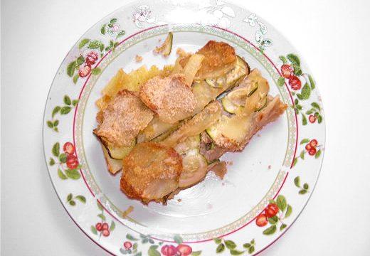 Sformato di zucchine e patate ricetta economica e facile