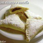Fagottini ricotta e nutella ricetta golosa