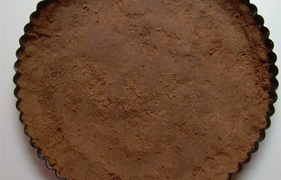 Impasto base di wafer al cacao per crostate ricetta base