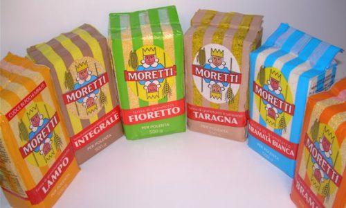 """Collaborazione con """"Polenta Moretti"""""""