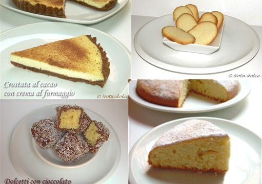 Le ricette della settimana: tanta dolcezza per voi!