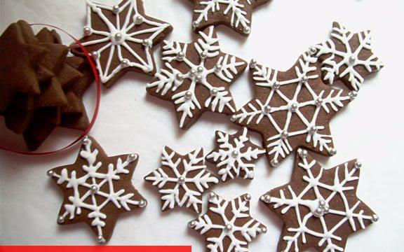 Biscotti fiocco di neve ricetta per Natale