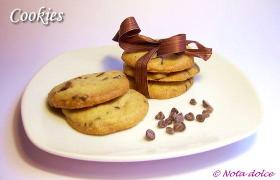 Cookies – biscotti americani – ricetta dolce