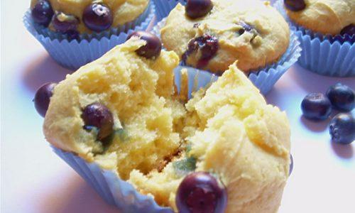 Muffin ai mirtilli e ricotta ricetta senza burro