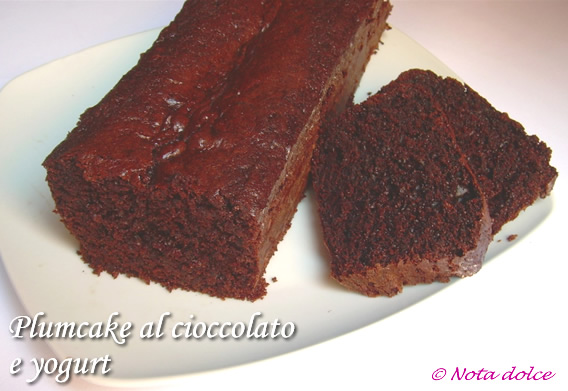 Torta yogurt e cacao ricetta