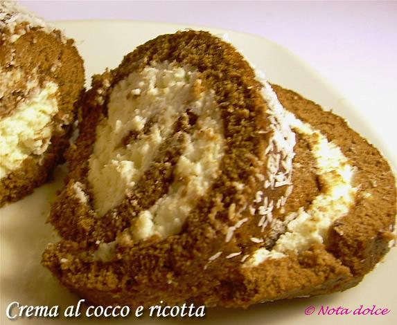 Crema al cocco e ricotta, ricetta dolce