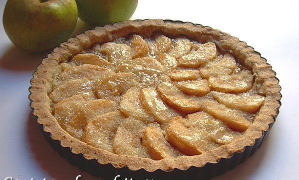 Crostata mele confettura e grano saraceno ricetta