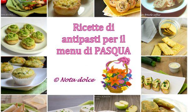 Ricette di antipasti per il menu di Pasqua