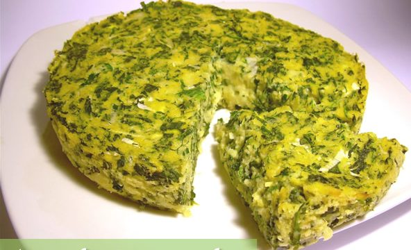 Tortino di spinaci e polenta con formaggi ricetta gustosa