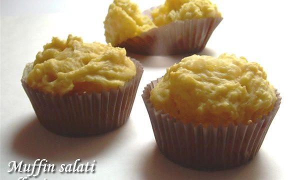 Muffin salati alla ricotta ricetta facile