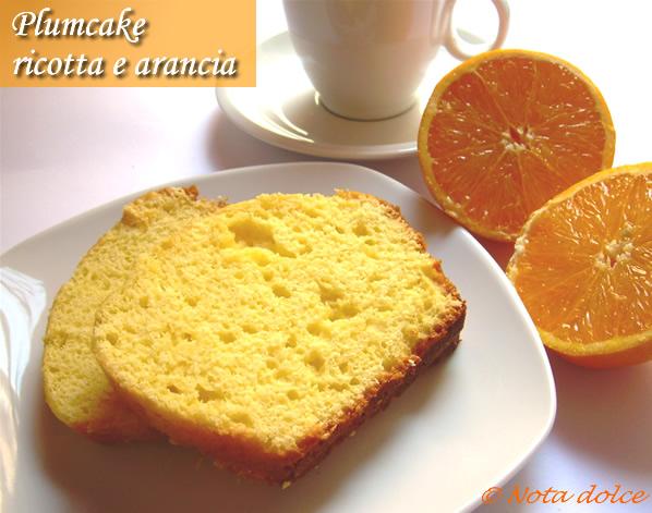 Torta di ricotta e arance ricetta