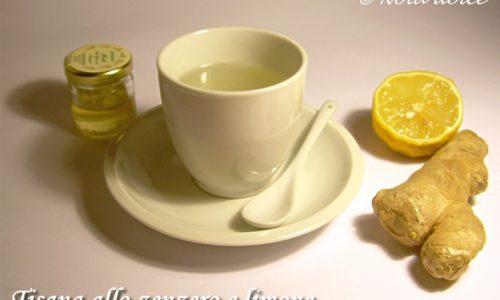 Tisana allo zenzero e limone ricetta infuso