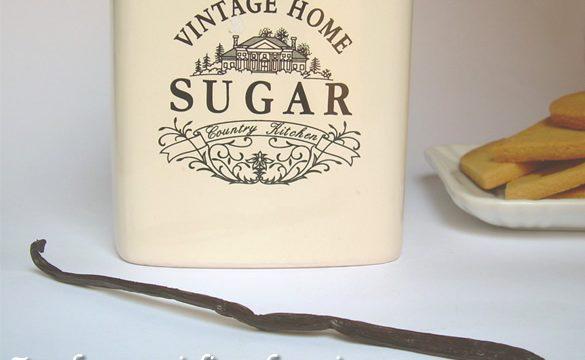 Zucchero vanigliato fatto in casa